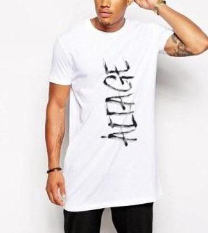 Camiseta Masculina Long Line