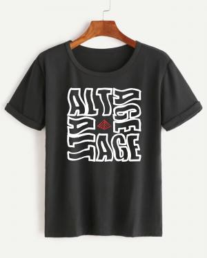 Camiseta Feminina Estampa Áltage